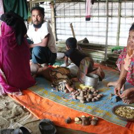 Notre première intervention auprès des réfugiés rohingyas au Bangladesh