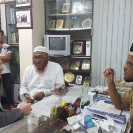 Rencontre avec un député parlementaire du Bangladesh