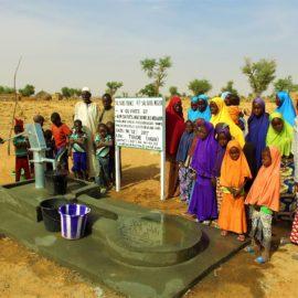 Forage de puits au Niger