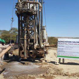 Construction de puits et châteaux d'eau en Somalie