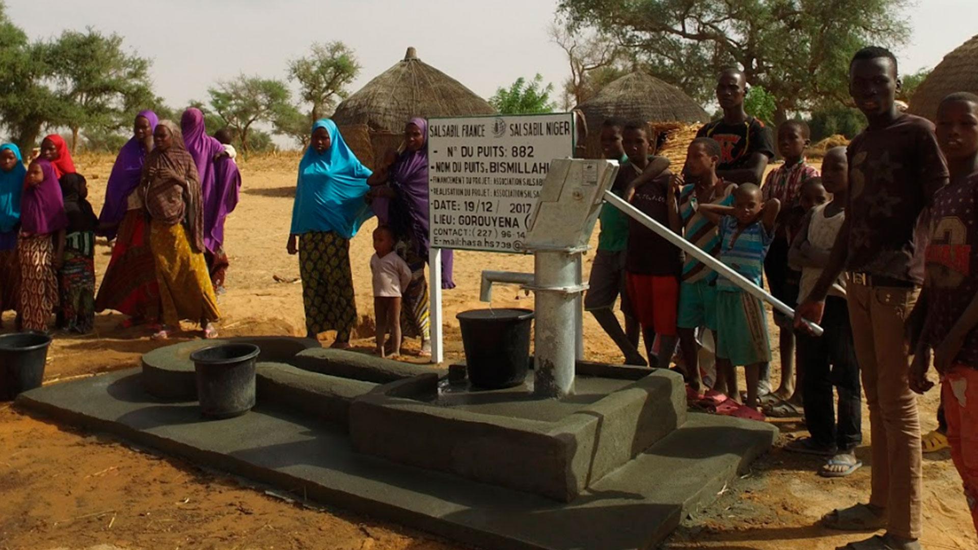 La construction d'un puits au Niger pour 1000 €