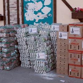 Collecte de dons pour les réfugiés tchétchènes de Bakou