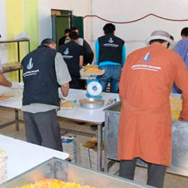 Projet: Offrir un repas au jeûneur – Ramadan 2019
