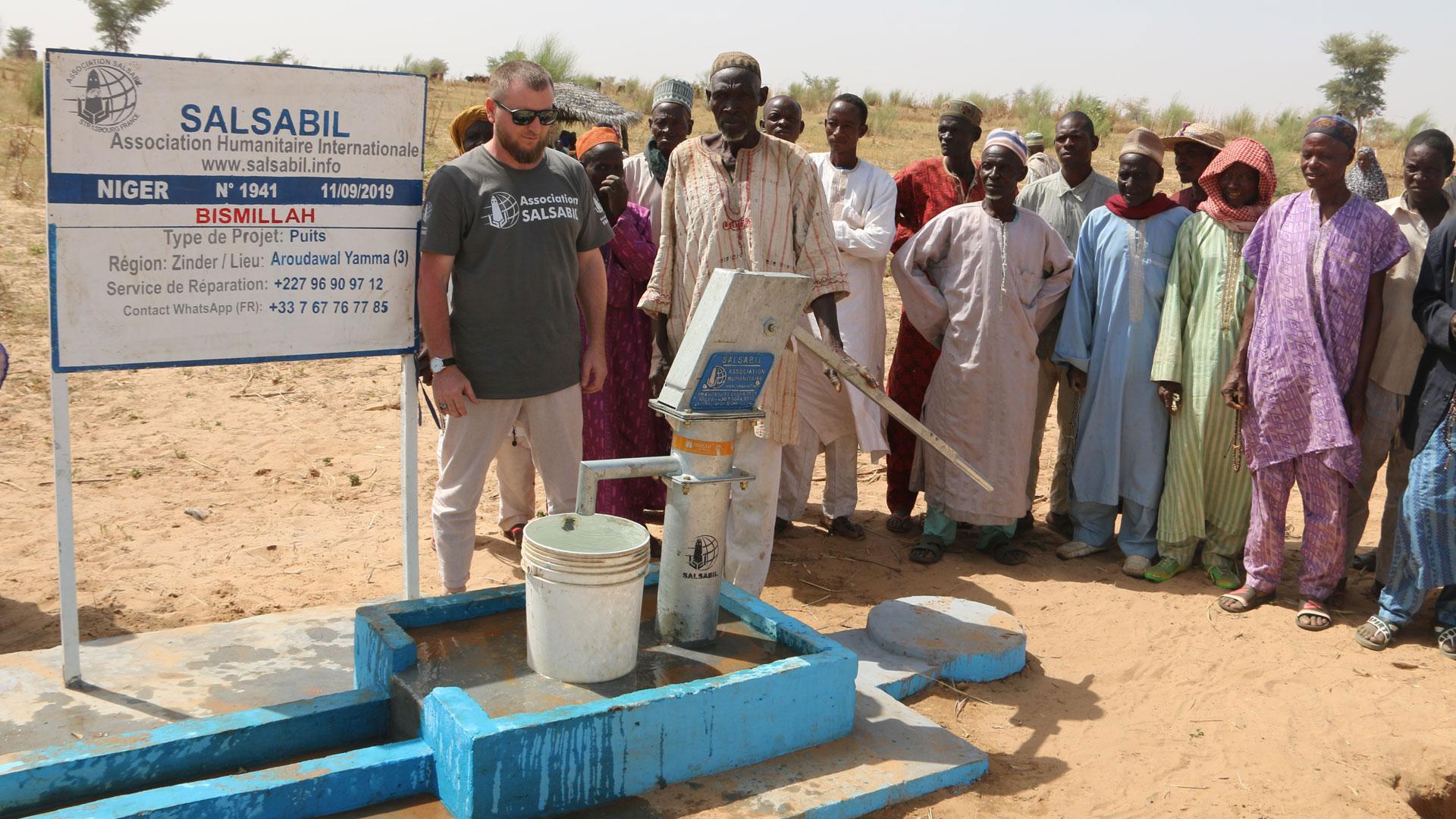 Nos puits au Niger à 1250 € !
