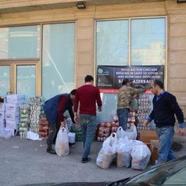 Aide aux réfugiés tchétchènes d'Azerbaïdjan