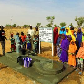 80 помповых колодцев в Нигере за Декабрь