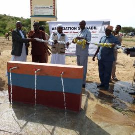 Открытие водонапорной башни Сальсабиль в Сомали