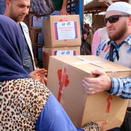 Помощь беженцам в Ливане