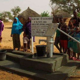 Cтроительство колодца в Нигере за 1000€