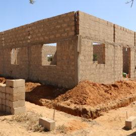Строительство самой большой мечети в Дифе