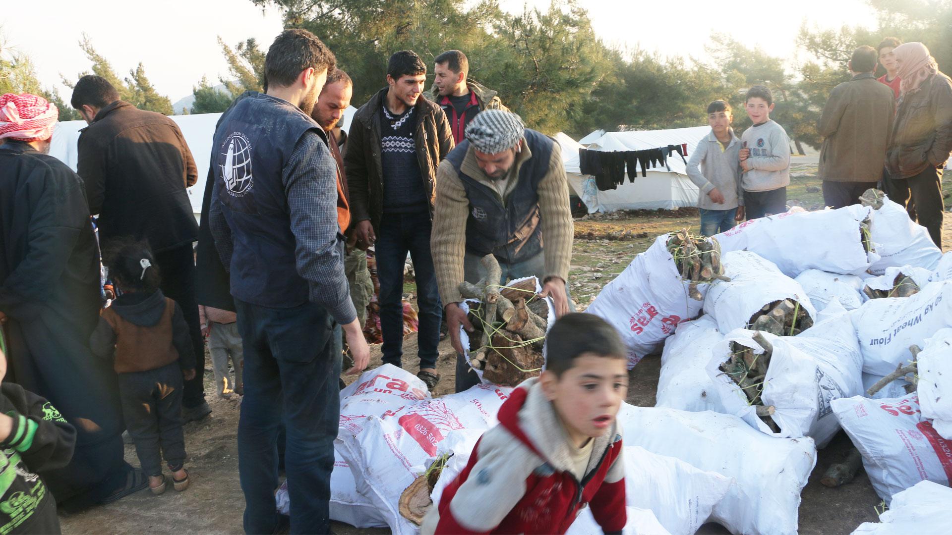 Срочный сбор для сирийских беженцев