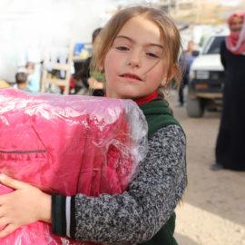 Беженцы в Ливане получили очередную партию помощи