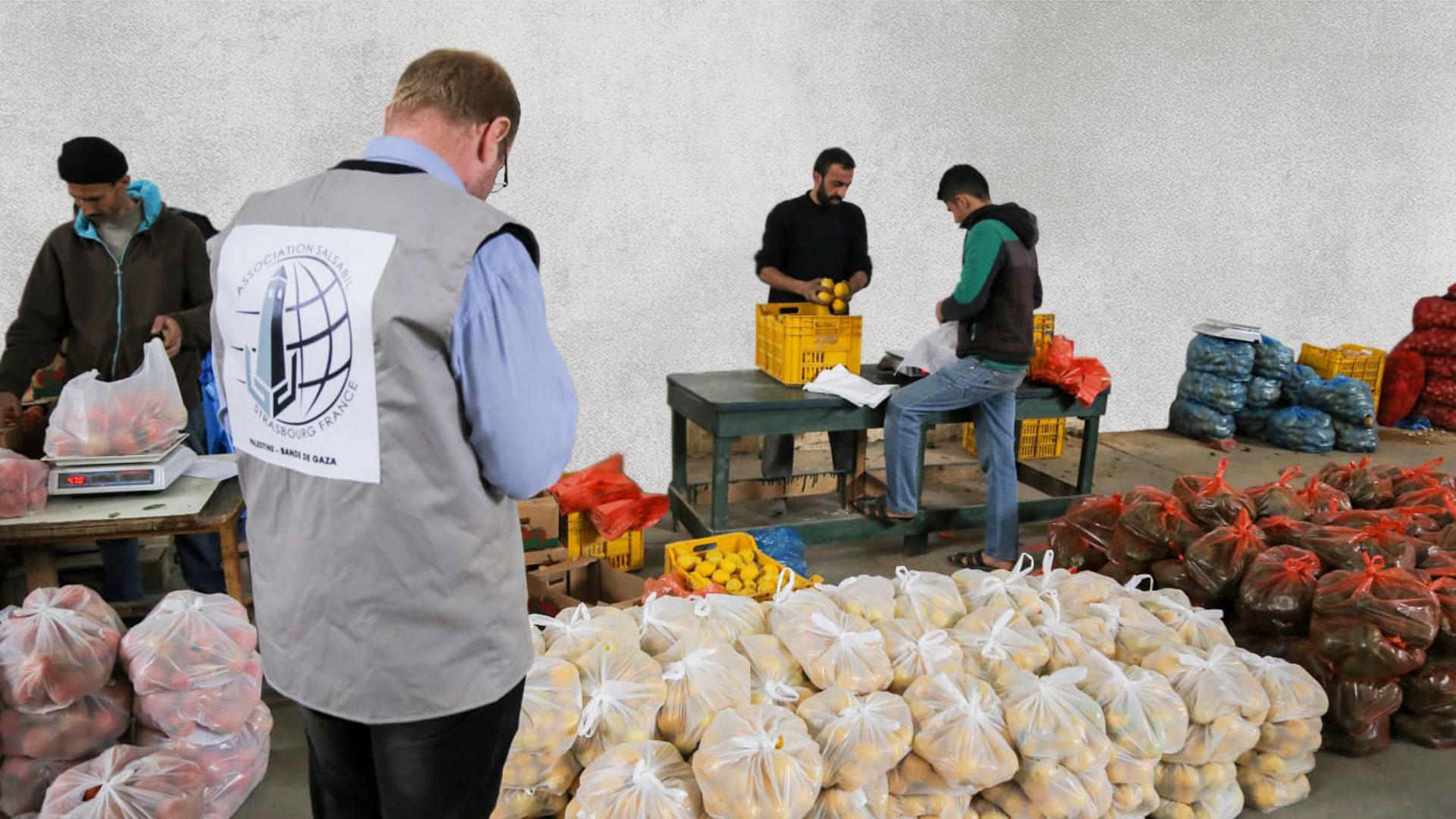 Продовольственная помощь Палестине