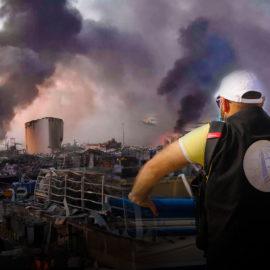 Гуманитарная катастрофа в Ливане после взрыва