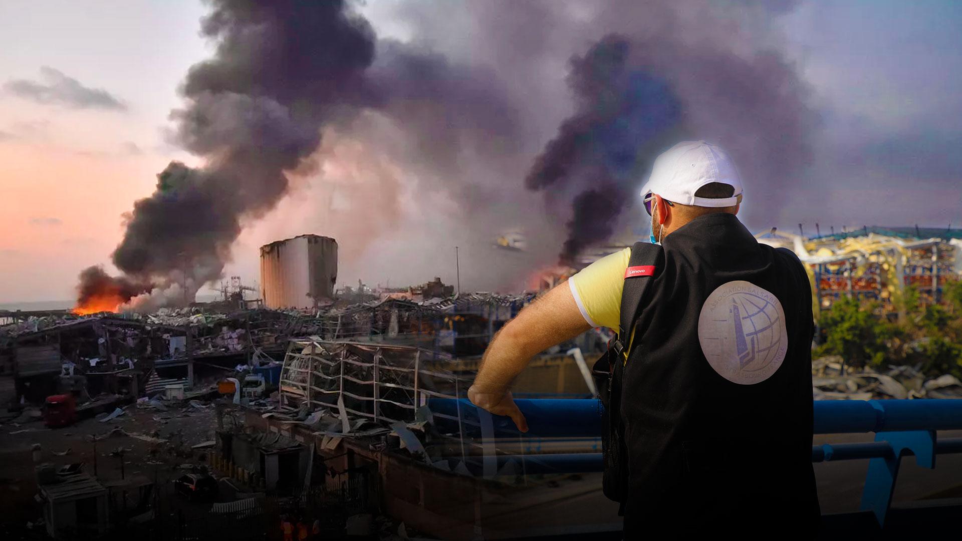 Гуманитарная катастрофа в ливане